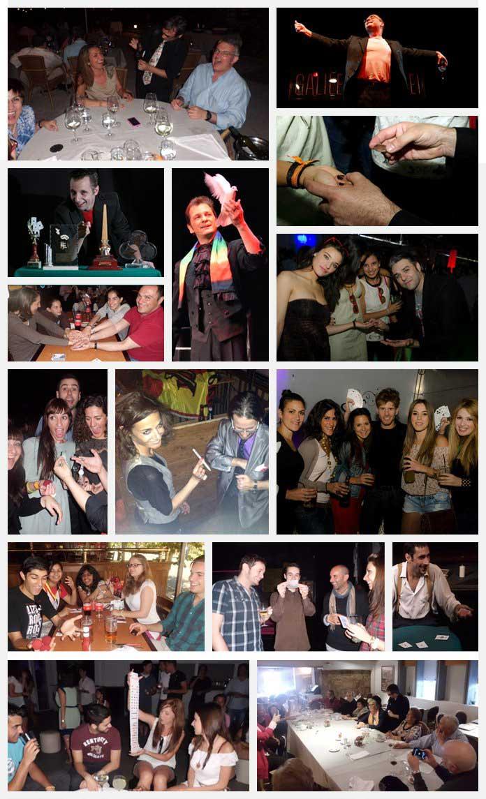 Magos para fiestas en Madrid
