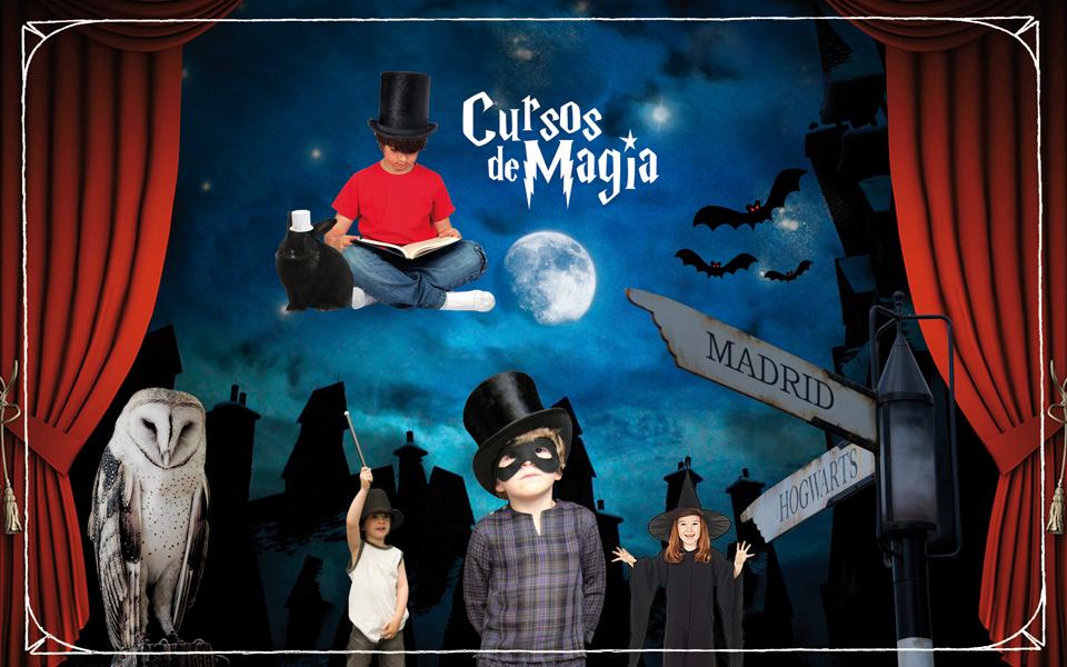 Escuela y Cursos de magia para niños