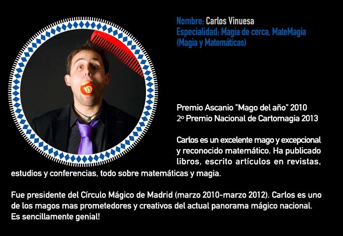 Escuela y cursos de magia - Carlos Vinuesa