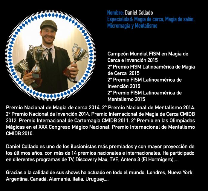 Escuela y cursos de magia - Daniel Collado