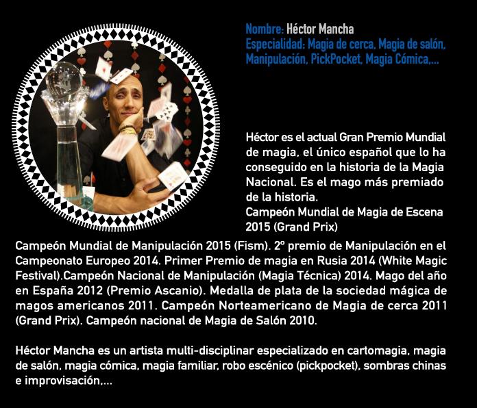 Escuela y cursos de magia - Hector Mancha